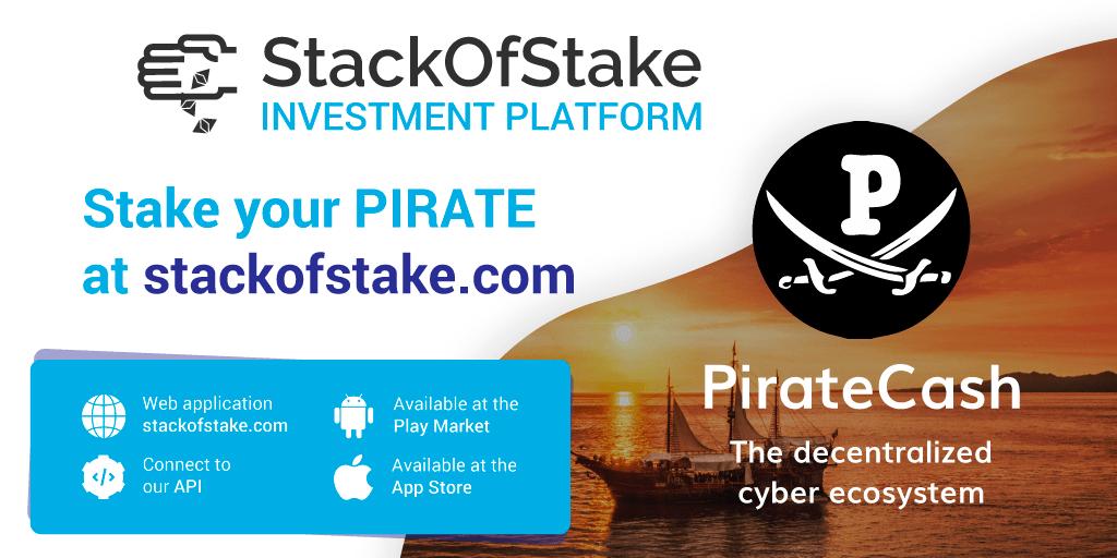 PirateCash (PIRATE) został dodany do platformy StackOfStake