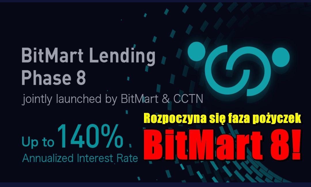 Rozpoczyna się faza pożyczek BitMart 8!