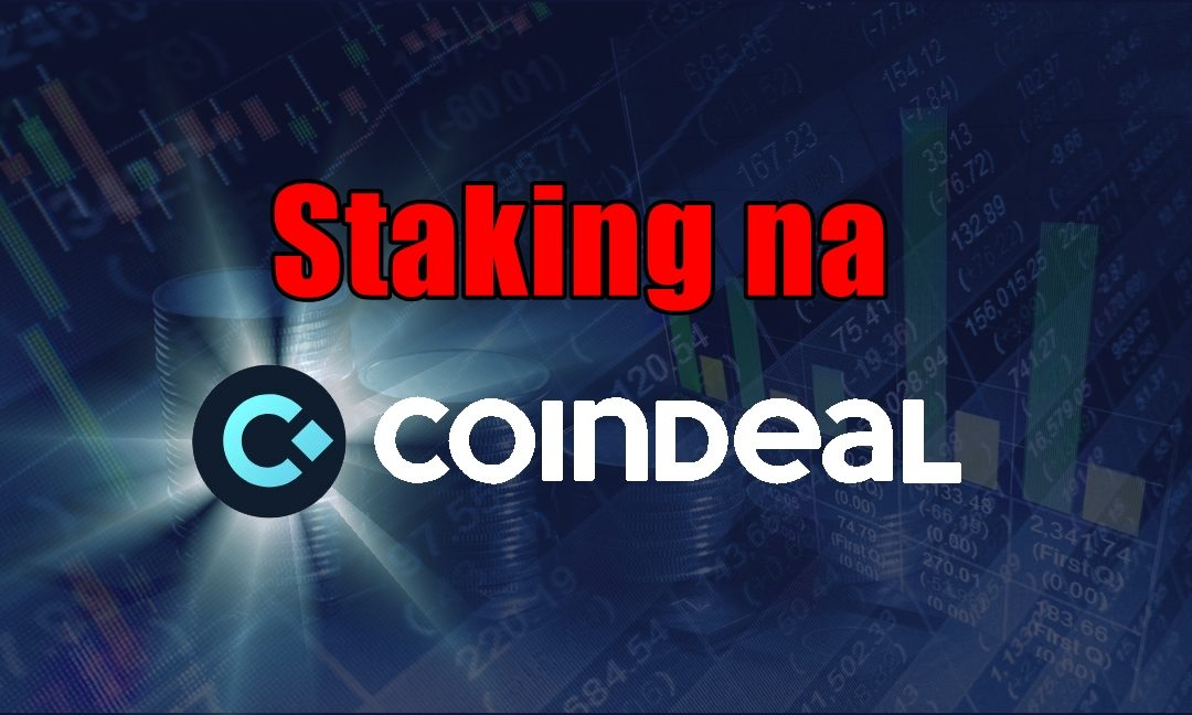 Staking CDL na CoinDeal