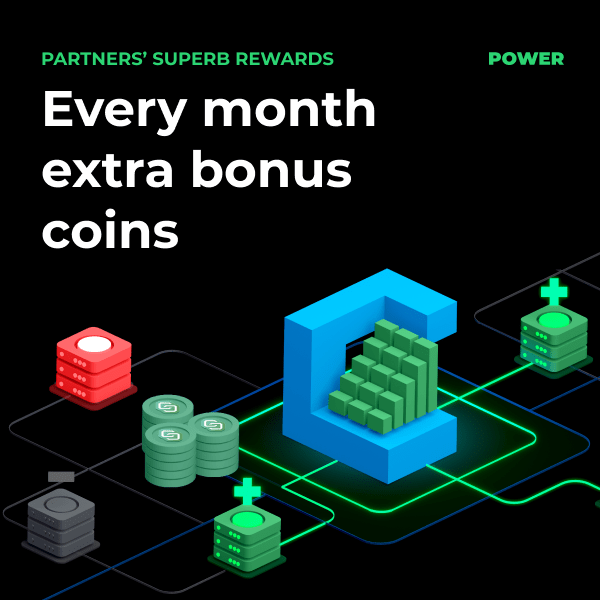 Superb Rewards partnerów MyCointainer
