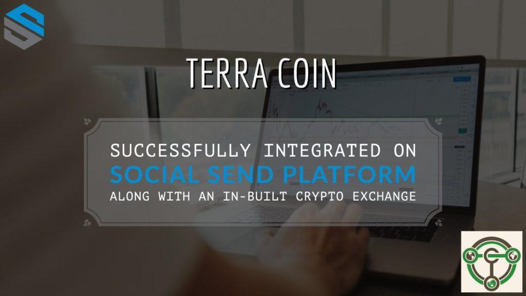 Terra Coin został również zintegrowany z platformą Social Send