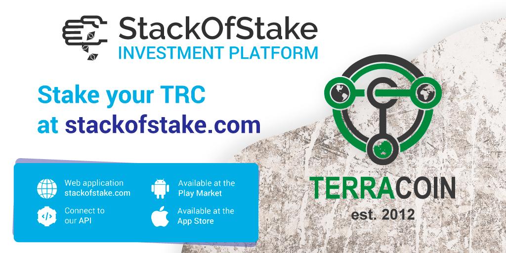 TerraCoin (TRC) został dodany do StackOfStake!