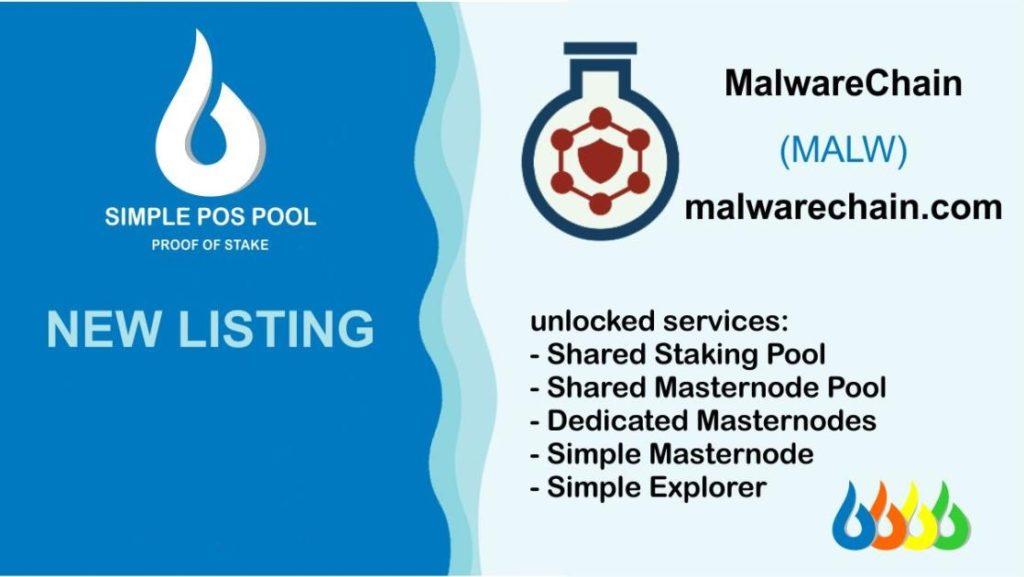 simple pos pool malwarechain