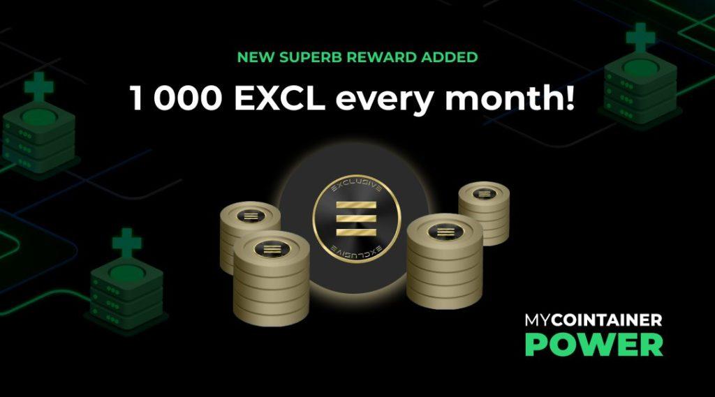 MyCointainer Przedstawiamy partnerów EXCL jako partnera Superb Rewards