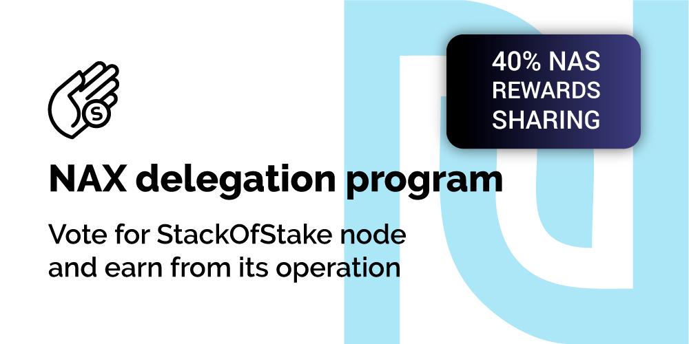 Otrzymywanie gwarantowanych nagród NAS z operacji węzła StackOfStake