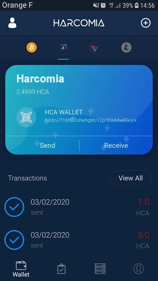 Portfel Wallet Harcomia 2