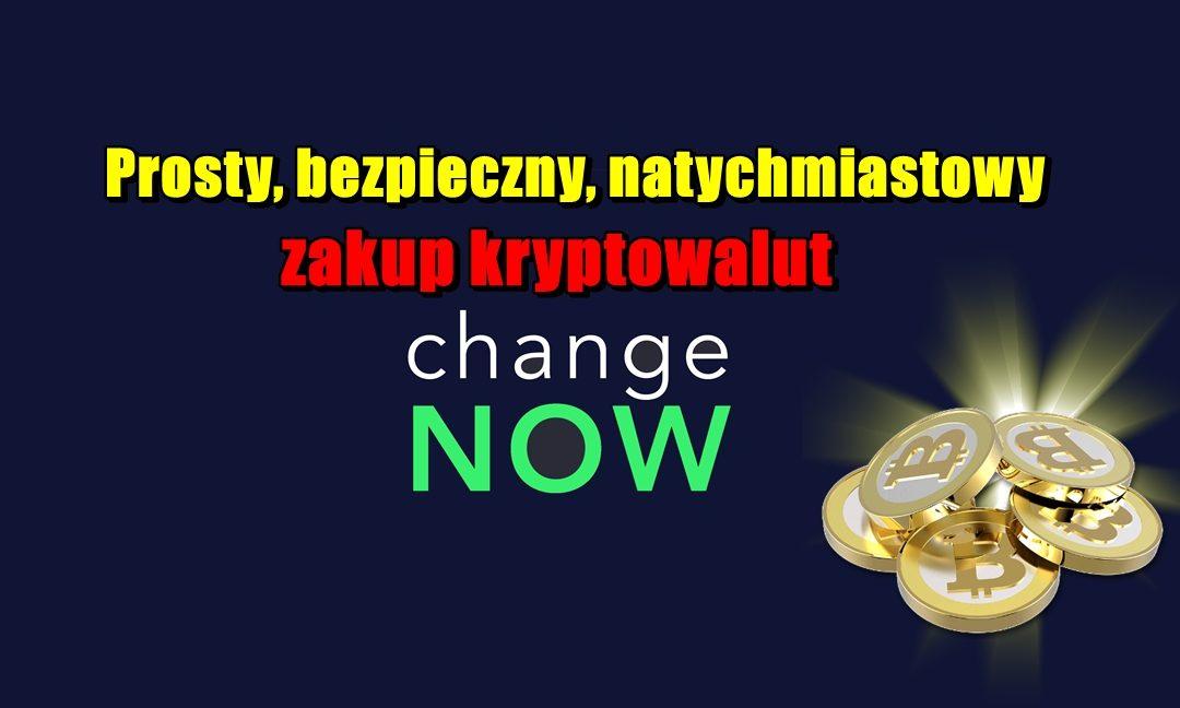 Prosty, bezpieczny, natychmiastowy zakup kryptowalut z ChangeNOW