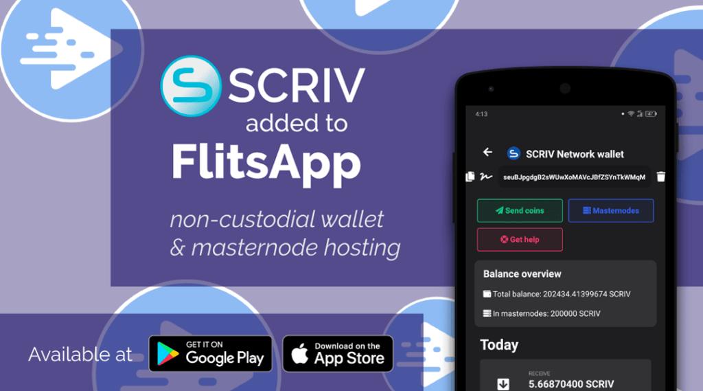 SCRIV został dodany do FlitsApp