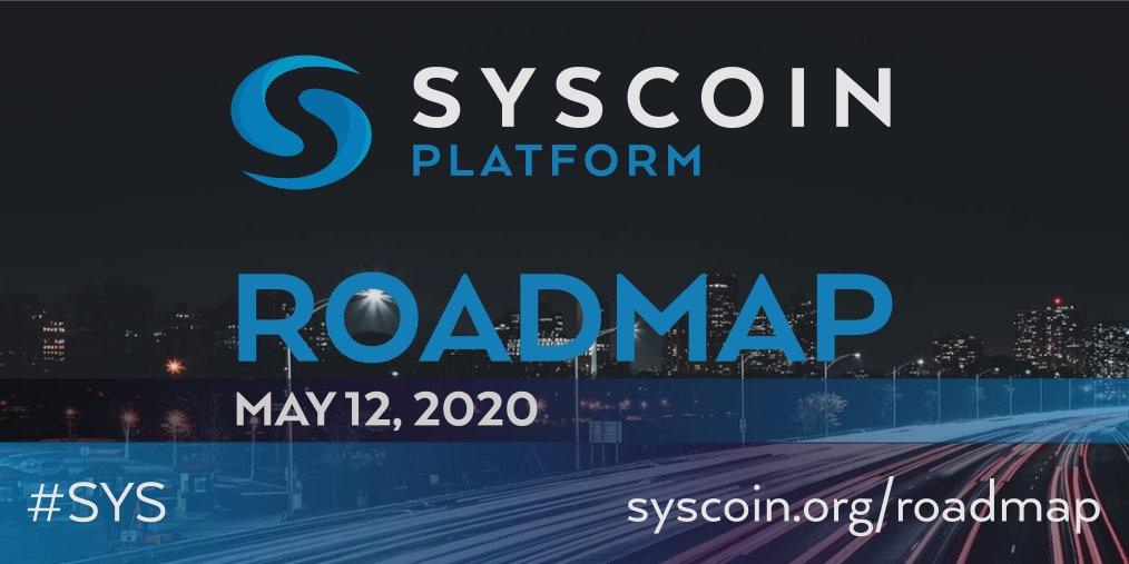 Syscoin Zaktualizowali mapę drogową