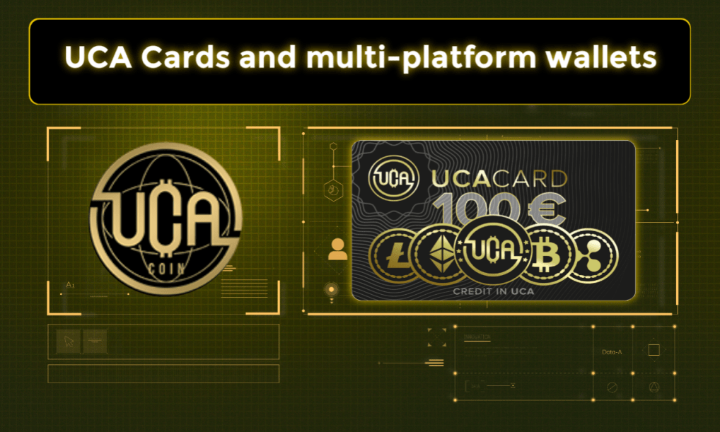 UCAcoin karty