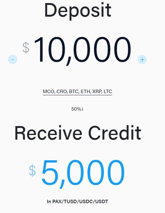 płać za pomocą portfela Crypto.com kredyty