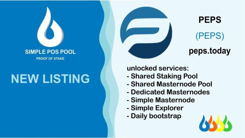 simple pos pool listed peps