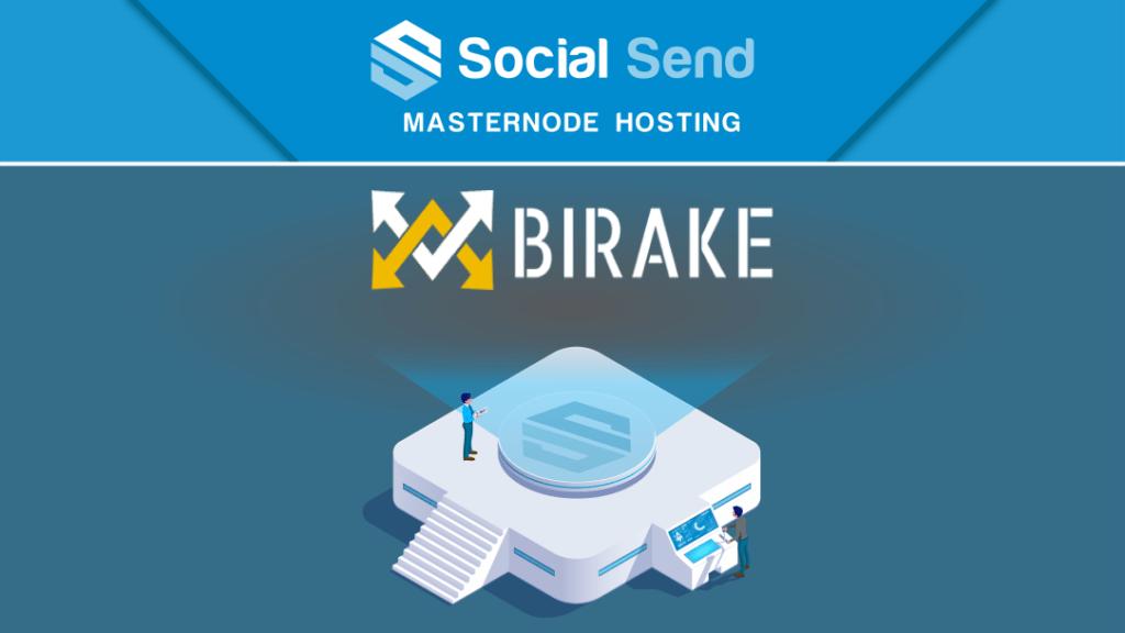 Birake został wymieniony na platformie SocialSend