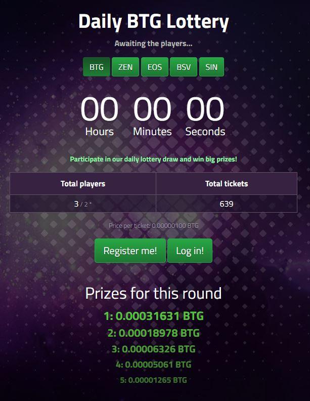 CraneFive loteria