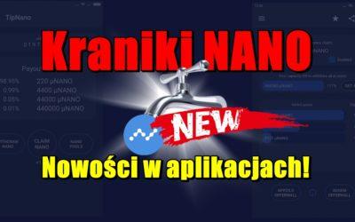 Kraniki NANO – Nowości w aplikacjach!