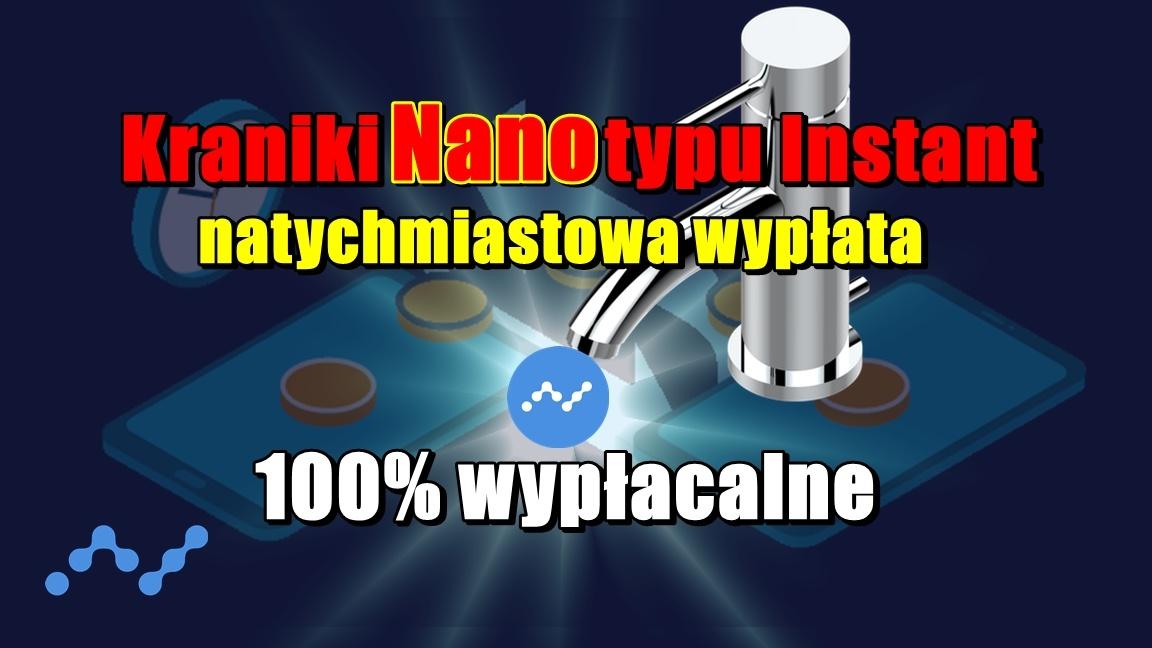 Kraniki Nano typu Instant (natychmiastowa wypłata) – 100% wypłacalne