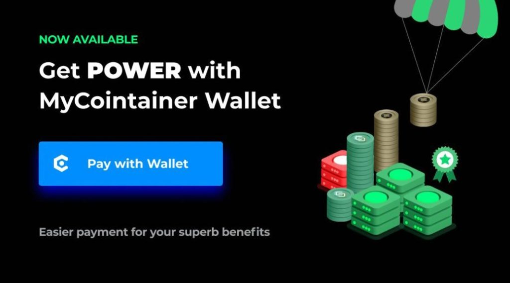 Mycointainer Nowa opcja dostępna dla Power