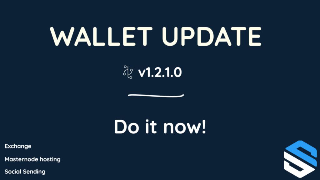 Social Send aktualizację portfela