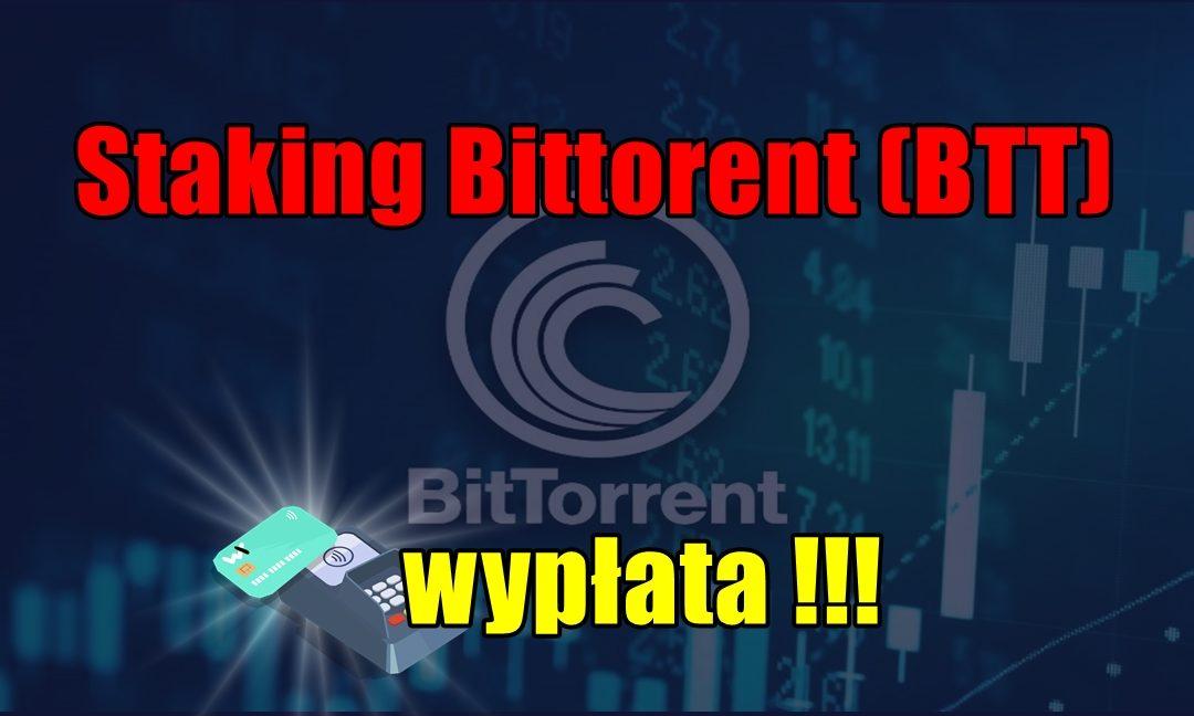 Staking Bittorent (BTT) - wypłata !!!