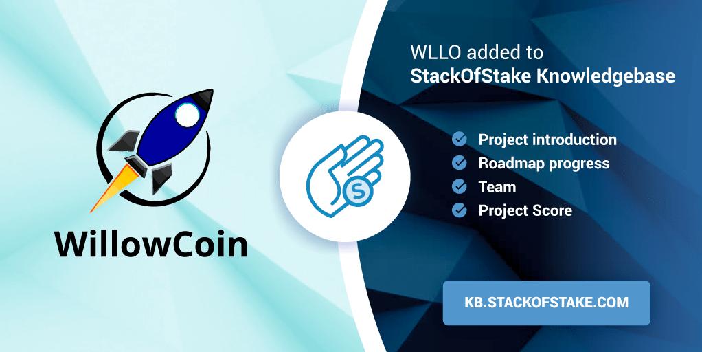WillowCoin (WLLO) zostanie dodany do StackOfStake