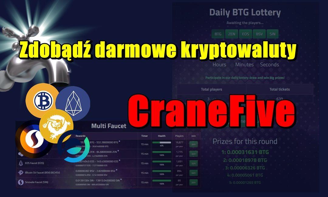 Zdobądź darmowe kryptowaluty – CraneFive