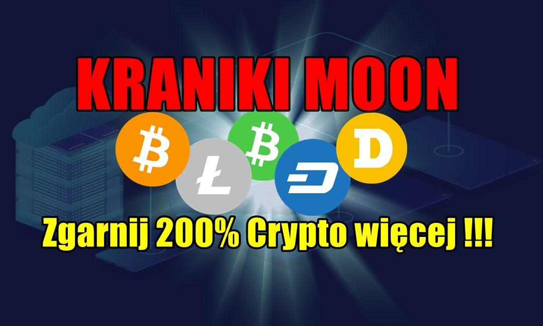 Kraniki moon, zgarnij 200% Crypto więcej !!!