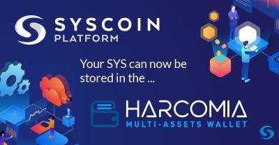SYSCOIN (SYS) w aplikacji mobilnej Harcomia