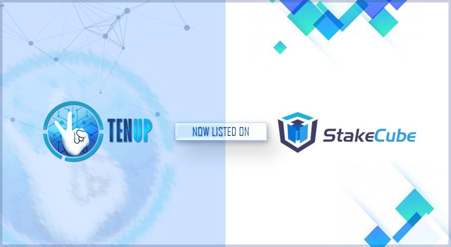 TENUP jest już dostępny w pulpicie nawigacyjnym StakeCube