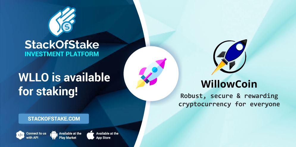 WillowCoin (WLLO) został dodany platformy StackOfStake