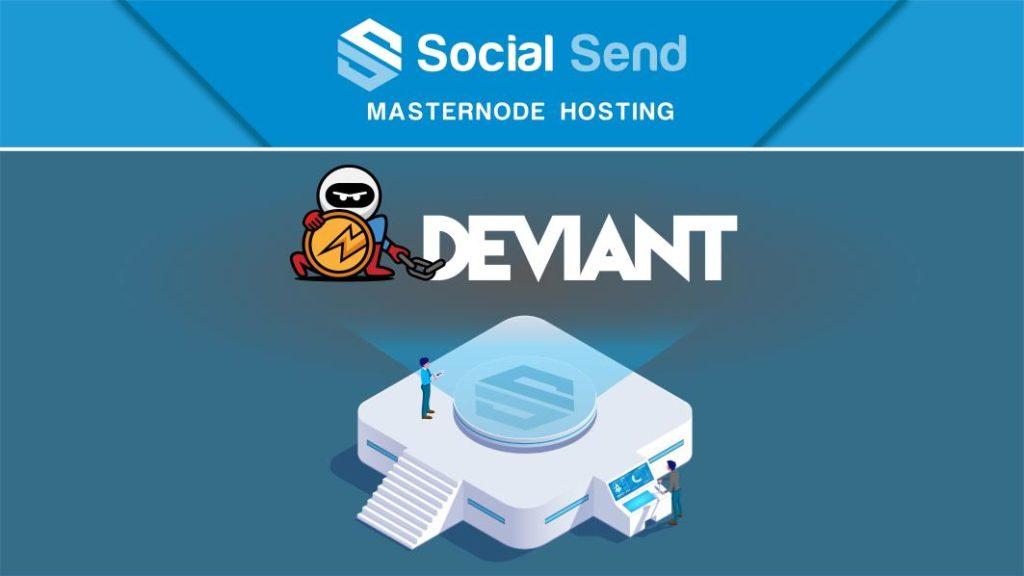 Witamy DeviantCoin w hosternode master hosting Social Send!