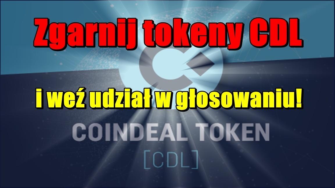 Zgarnij tokeny CDL i weź udział w głosowaniu!