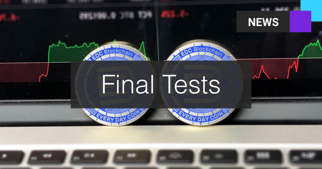 Informatycy EDC Blockchain przeprowadzili końcowe testy procesu denominacji!