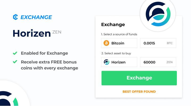 Z przyjemnością informujemy o integracji Horizen Global na MyCointainer Exchange