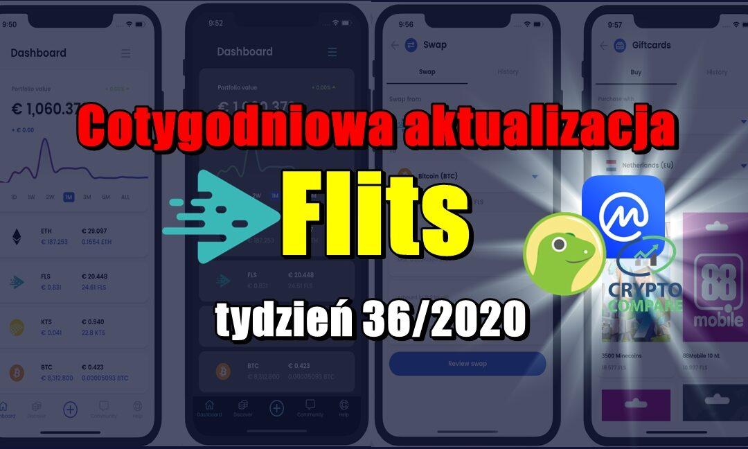 Cotygodniowa aktualizacja Flits , tydzień 36/2020