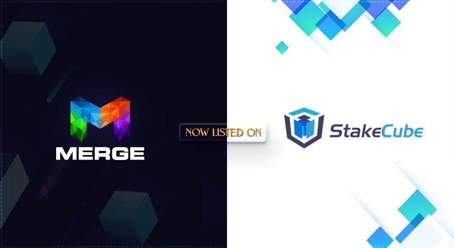 MERGE jest już dostępny w ich panelu i giełdzie StakeCube