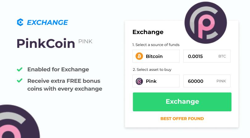 Pinkcoin MyCointainer