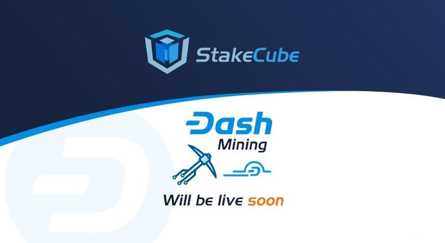 W usłudze MineCube kopanie DASH, jest już dostępny!
