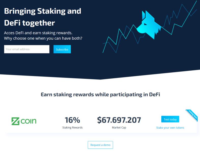 Zcoin jest dumny z tego, że jest pierwszym zasobem obsługiwanym na platformie Stakehound