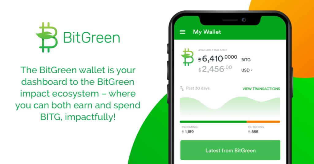 Aplikacja mobilna BitGreen