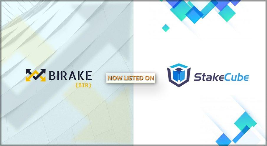 BIRAKE jest już dostępny w panelu i giełdzie na pięciu rynkach na StakeCube