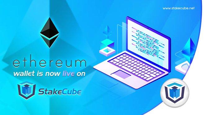 Ethereum (ETH) jest już dostępne na StakeCube