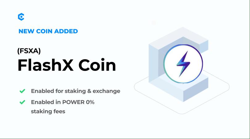 FlashX Advance na MyCointainer