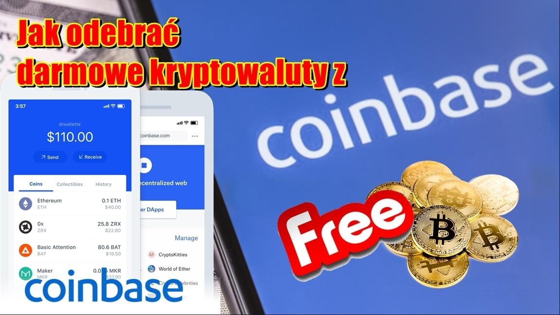 Jak odebrać darmowe kryptowaluty z coinbase?