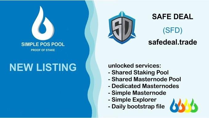 Safe Deal jest notowany na Simple Pos Pool i jej usługach