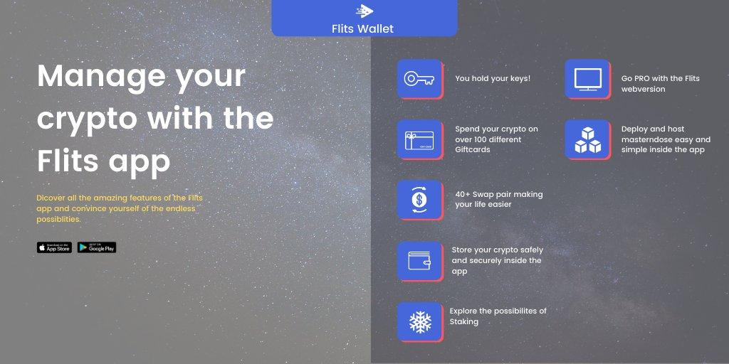 W aplikacji Flits dostępnych jest teraz +90 monet na wszystkie Twoje codzienne potrzeby związane z kryptowalutą