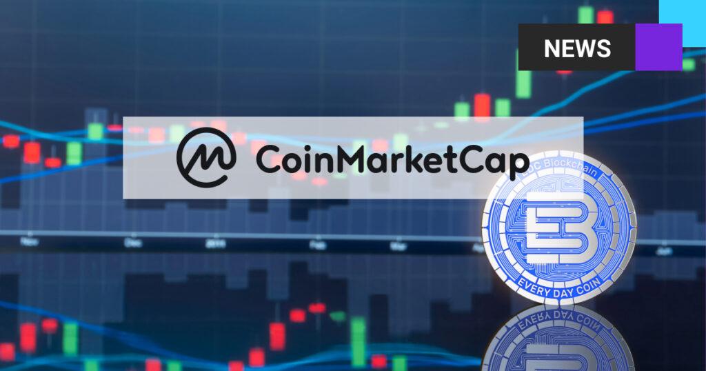 Aktualizacja danych EDC Blockchain na Coinmarketcap