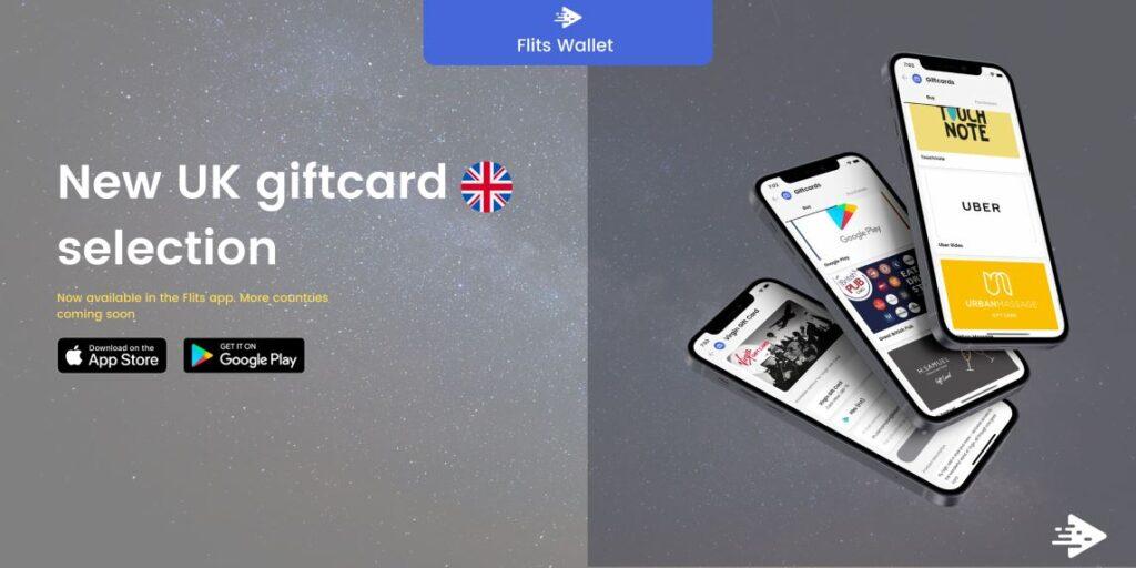 Ekscytująca nowa gama kart podarunkowych Flits