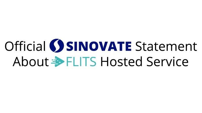 FLITS Hosted Service, oficjalne oświadczenie SINOVATE