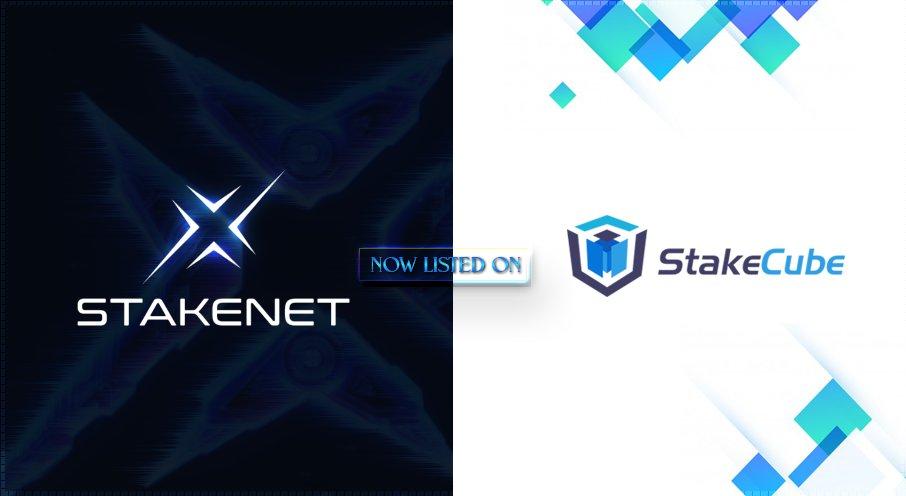 StakeNet jest już dostępny na StakeCube