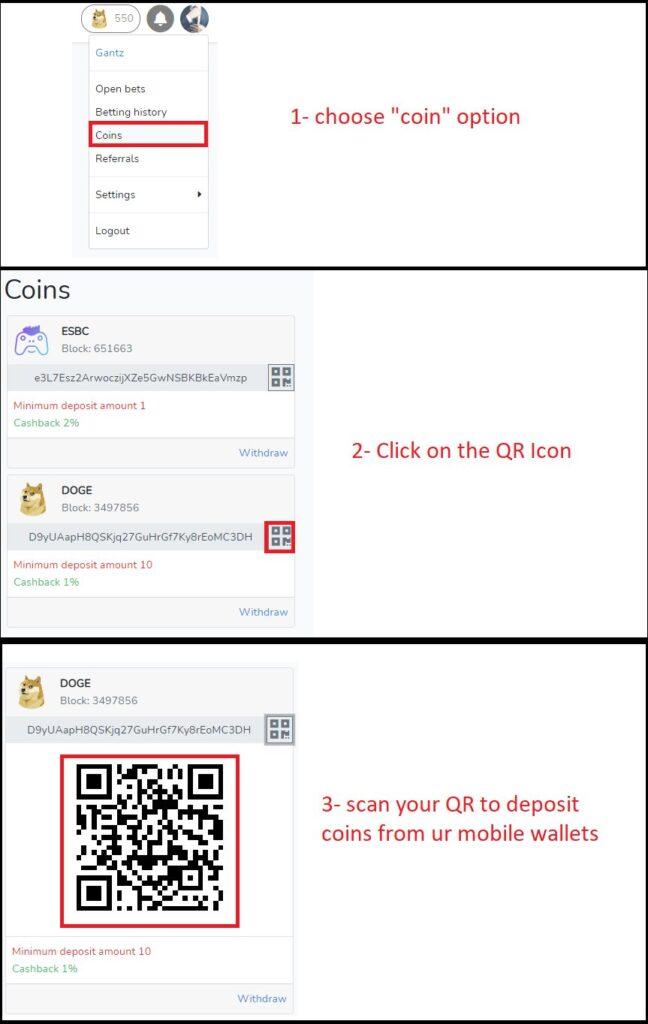 Teraz możesz dokonywać wpłat ze swoich portfeli mobilnych za pomocą kodu QR swojego adresu ESBC